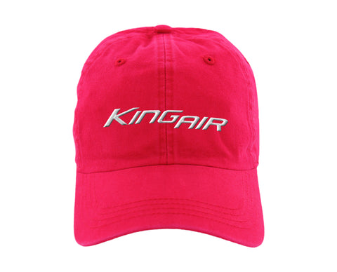 Beechcraft King Air Ahead classic cut vintage twill cap