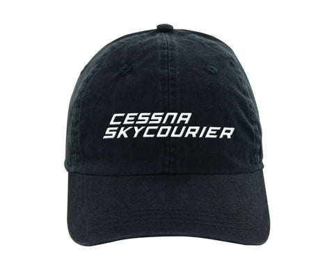 Citation SkyCourier Ahead classic cut vintage twill cap
