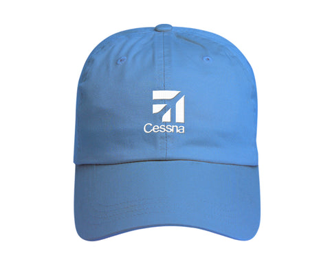 Cessna Washed Twill Unstructured Hat