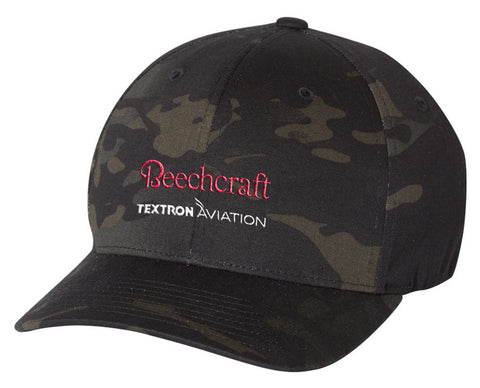 Beechcraft Flexfit Camo Hat