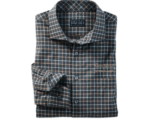 Beechcraft Mens Bobby Jones Brock Grid Sport Shirt