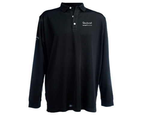 Beechcraft Mens Callaway Long Sleeve Polo