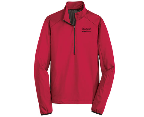 Beechcraft Mens 1/2 Zip Soft Shell Jacket