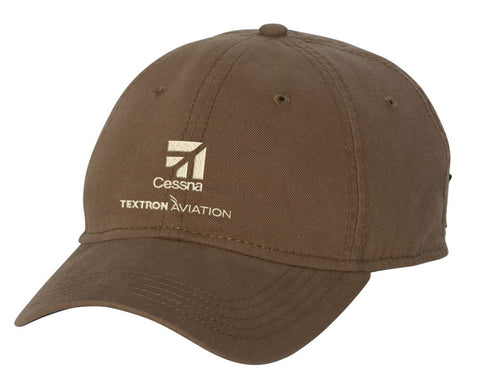 Cessna Dri Duck Highland Canvas Hat