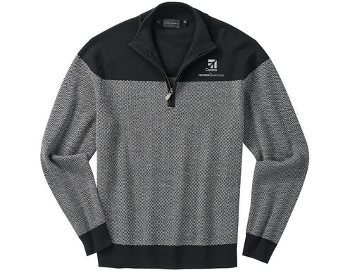 Cessna Mens Bobby Jones Herringbone Pullover