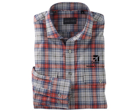 Cessna Mens Bobby Jones Braxton Plaid Woven