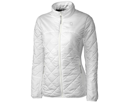 Cessna Ladies Cutter & Buck Sandpoint Quilted Jacket