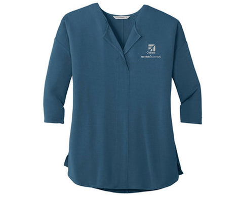 Cessna Ladies Concept Soft Split Top