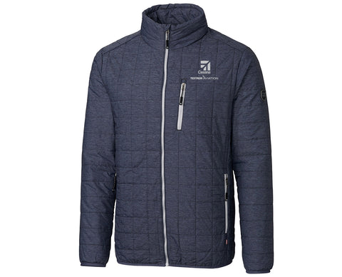 Cessna Men Cutter & Buck Rainier Jacket