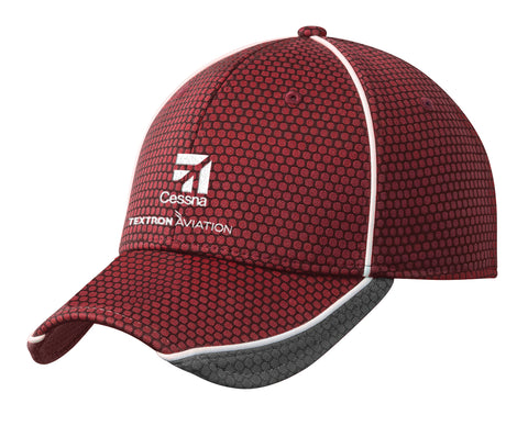 Cessna New Era Hex Mesh Hat