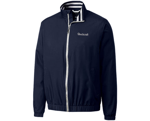 Beechcraft Mens Cutter & Buck Nine Iron Full Zip Jacket