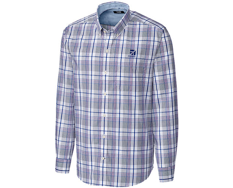 Cessna Mens Cutter & Buck Aidan Plaid