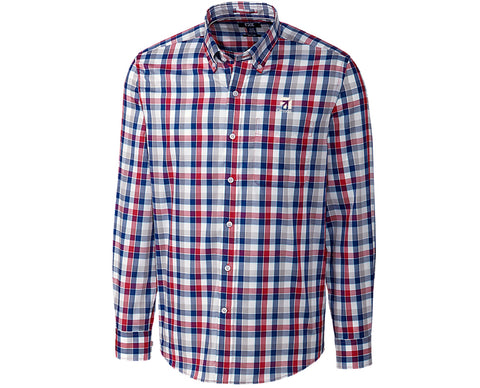 Cessna Mens Cutter & Buck Dylan Plaid