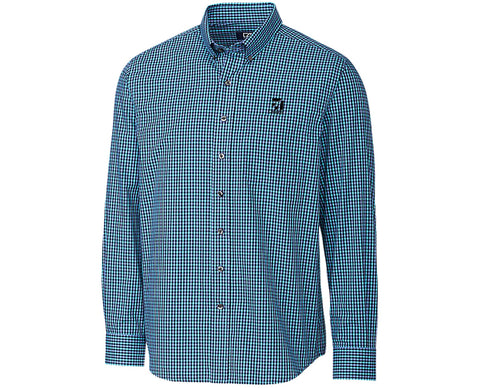 Cessna Mens Cutter & Buck Barrett Check