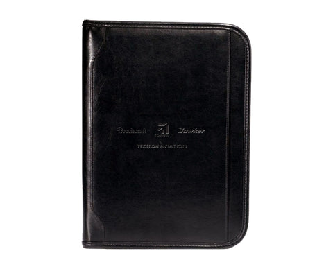 Textron Aviation Vintage Leather Padfolio