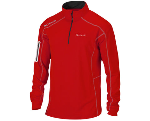 Beechcraft Mens Columbia Shot Gun 1/4 Zip