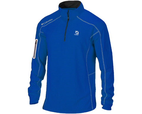 Cessna Mens Columbia Shot Gun 1/4 Zip