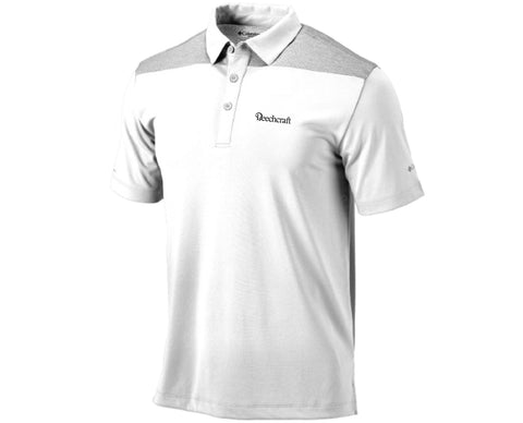 Beechcraft Mens Columbia Utility Polo