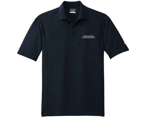 Grand CaravanEX Nike Golf Dri-Fit Short Sleeve Classic Polo Shirt