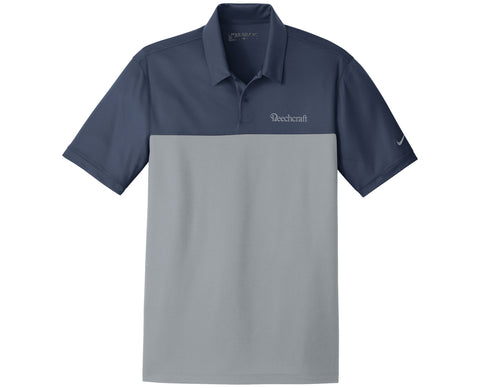 Beechcraft Mens Nike Colorblock Micro Pique Polo