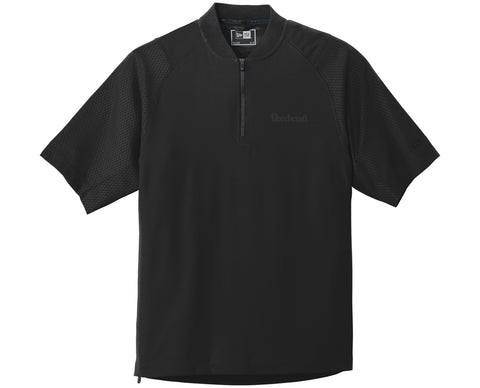 Beechcraft Mens New Era Cage Short Sleeve 1/4 Zip Jacket