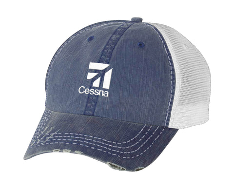 Cessna Unstructured Denim Hat