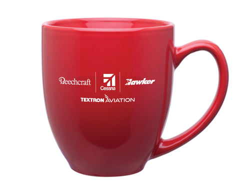 Textron Aviation 15 Oz Bistro Mug