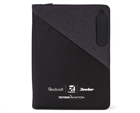 Textron Aviation Linked Charging Padfolio