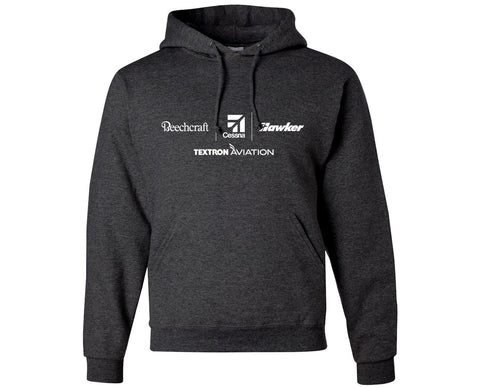 Textron Aviation Mens Hooded Sweatshirt