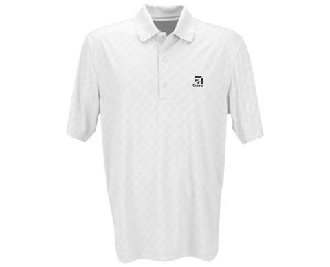 Cessna Mens Greg Norman Diamond Embossed Polo
