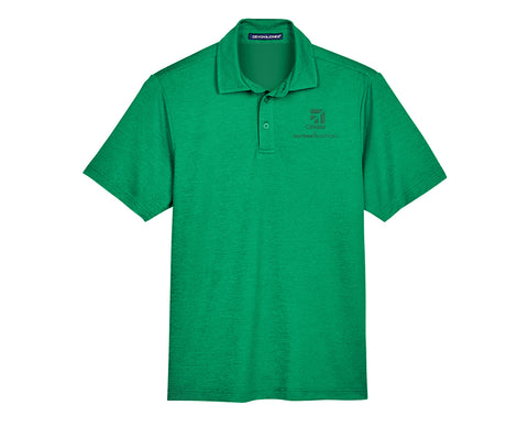 Cessna Mens Address Melange Polo