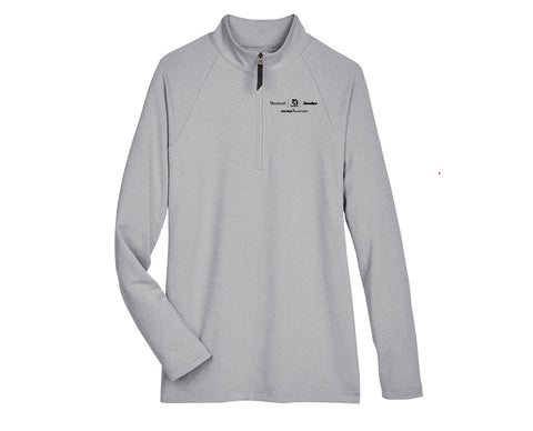 Textron Aviation Ladies Micro-Stripe Quarter-Zip