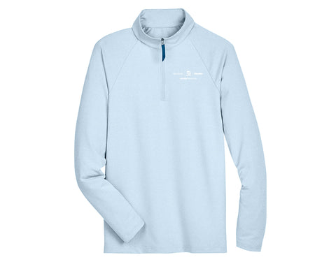 Textron Aviation Mens Micro-Stripe Quarter-Zip