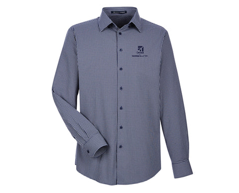 Cessna Mens Tonal Mini Check Shirt