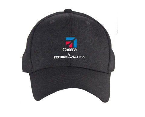 Cessna Ahead Reverse Heather Poly Hat