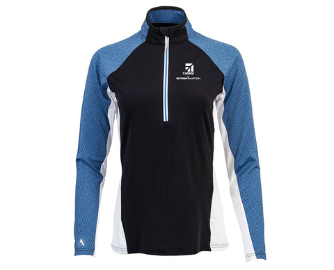 Cessna Ladies Antigua Solace Half Zip