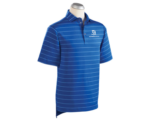 Cessna Mens Bobby Jones Momentum Stripe Polo
