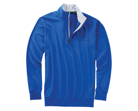 Cessna Mens Bobby Jones Liquid Cotton Stretch 1/4 Zip Pullover