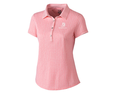 Cessna Ladies Cutter & Buck Leona Print Polo