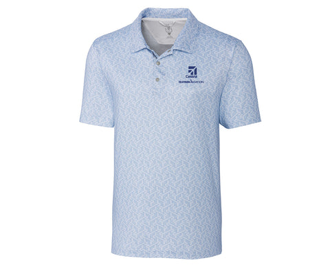 Cessna Mens Cutter & Buck Finn Polo