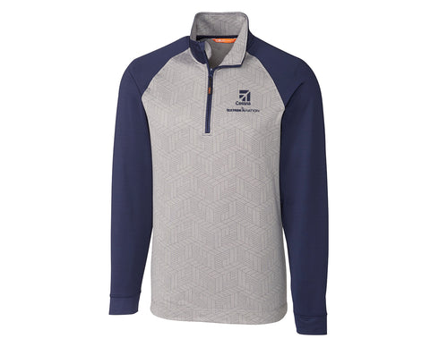 Cessna Mens Cutter & Buck All-Star Half Zip