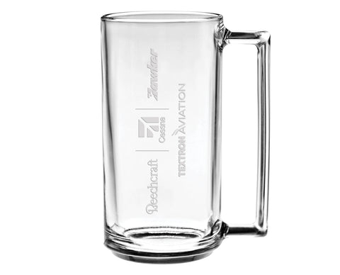 Textron Aviation Glass Mug