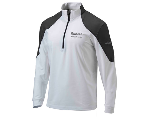 Beechcraft Mens Columbia Panel 1/4 Zip