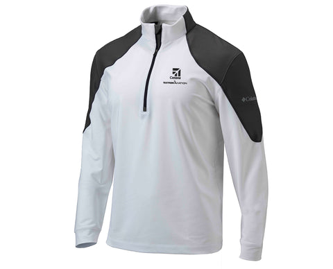Cessna Mens Columbia Panel 1/4 Zip