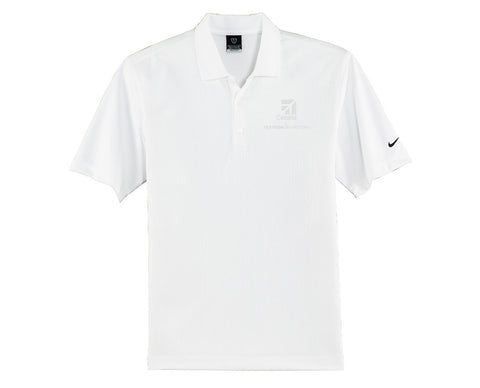 Cessna Mens Nike Textured Polo