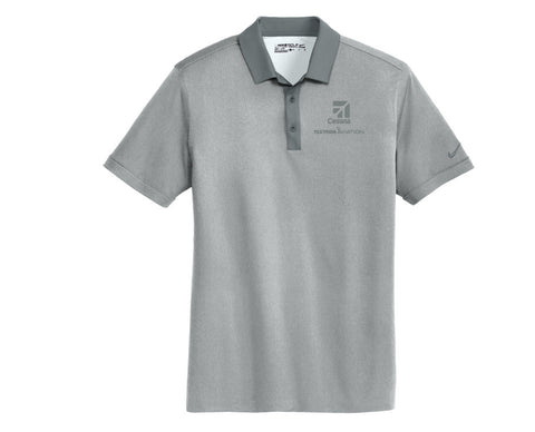 Cessna Mens Nike Heather Pique Polo