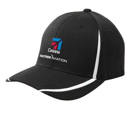 Textron Aviation Flexfit Colorblock Hat S/M