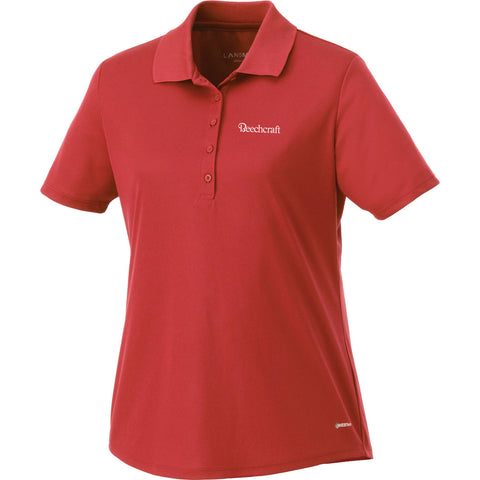 Beechcraft Ladies Short Sleeve Polo