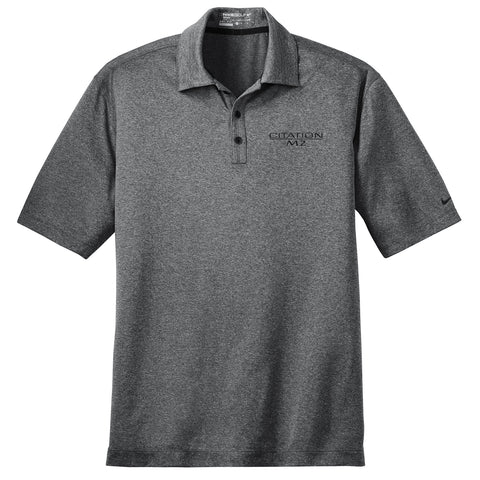 Nike Golf Dri Fit Heathered Polo - M2