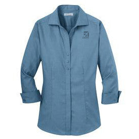 Cessna Ladies 3/4 Sleeve Nailshead Shirt